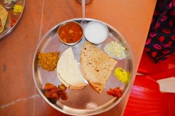 Thali from the Sahayadris, India