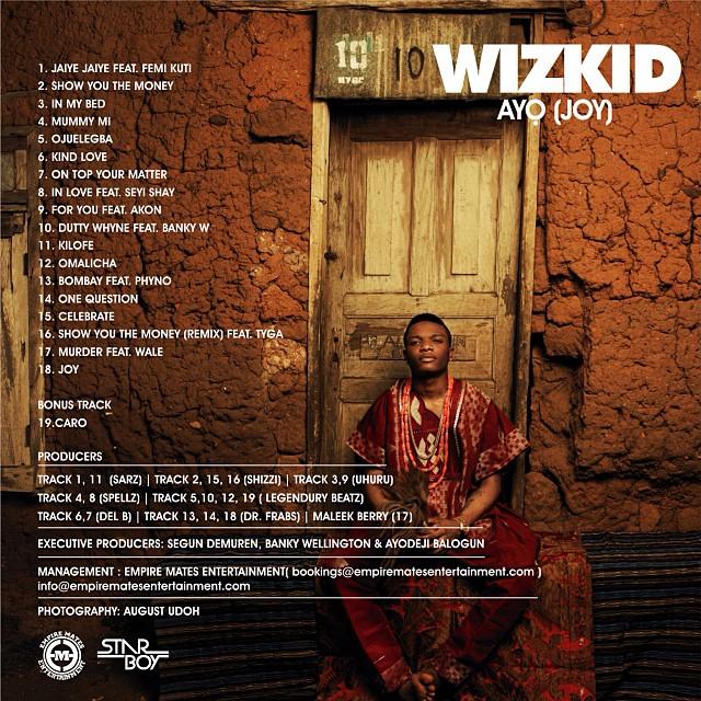Wizkid-Album-Tracklisting